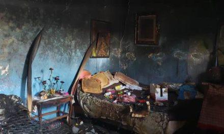 ¡Drogado sujeto le prendió fuego a su casa en Aguascalientes!