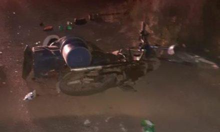 ¡Zacatecano falleció tras caer de su motocicleta en Aguascalientes!