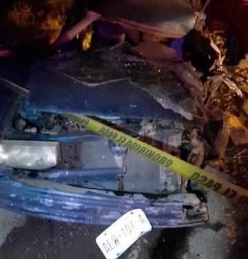 ¡Accidente en Calvillo, Aguascalientes, dejó 1 muerto y 2 lesionadas!