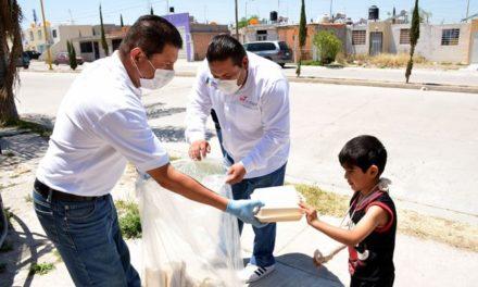 ¡DIF Municipal lleva apoyos alimenticios a familias gracias a donación de Grupo Modelo!