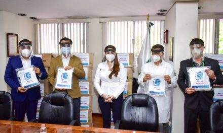 ¡Tere Jiménez dona 10 mil caretas al Sector Salud para enfrentar emergencia sanitaria por COVID-19!