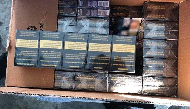 ¡Guardia Nacional aseguró 220 mil cigarrillos apócrifos en Central de Autobuses de Zacatecas!