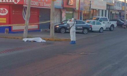 ¡Policía municipal de Aguascalientes mató a balazos a delincuente que trató de asaltarlo!