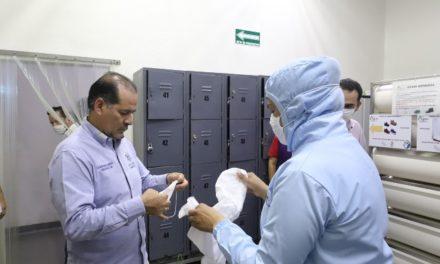 ¡Gobernador del Estado supervisa intensificación de medidas de higiene en empresas locales!