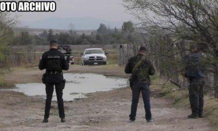 ¡Ejecutado y encobijado hallaron a un hombre cerca de un arroyo en Zacatecas!
