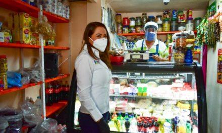 ¡Tere Jiménez inicia campaña de entrega de cubrebocas y caretas a la población!