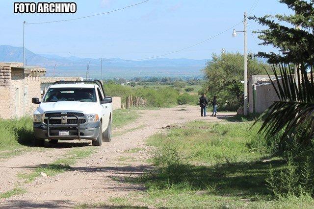 ¡Ejecutaron a tres hombres en Las Palmas, Fresnillo!