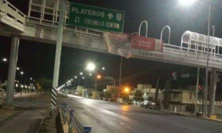 ¡Detuvieron a familia que colocaba narco-mantas en Zacatecas y Guadalupe!