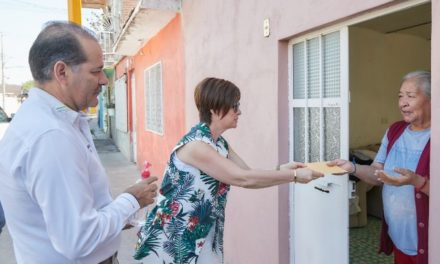 ¡Gobernador inicia entrega de apoyos económicos a empacadores de la tercera edad!