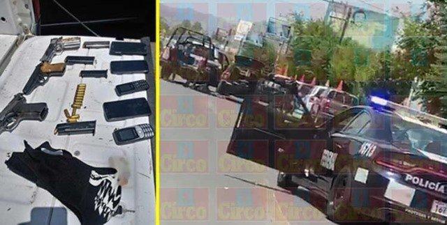 ¡Policía Estatal detuvo a tres sujetos con armas de fuego en Jerez!
