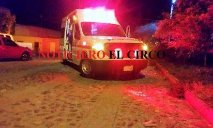 ¡Hombre fue herido de un balazo al resistirse a un asalto en Lagos de Moreno!
