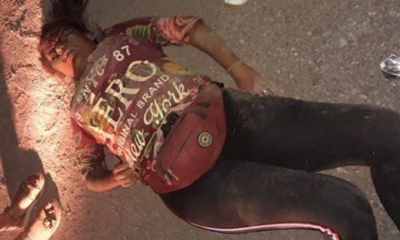 ¡Grave alcoholizada joven que se cayó de una motocicleta en Aguascalientes!