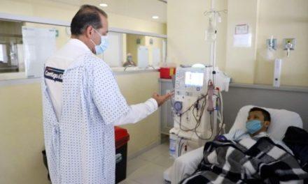 ¡Unidad de Hemodiálisis de Aguascalientes concentrará la atención de pacientes con enfermedades renales en la entidad para protegerlos de COVID-19!