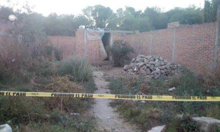 ¡Hallaron muerto a un indigente en una finca en construcción en Aguascalientes!