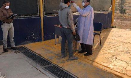 ¡Municipio realiza revisiones médicas a pepenadores del Relleno Sanitario San Nicolás!
