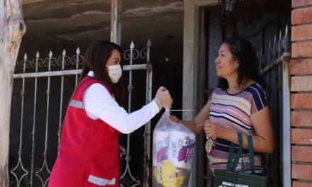 ¡Tere Jiménez entrega apoyos a familias vulnerables!