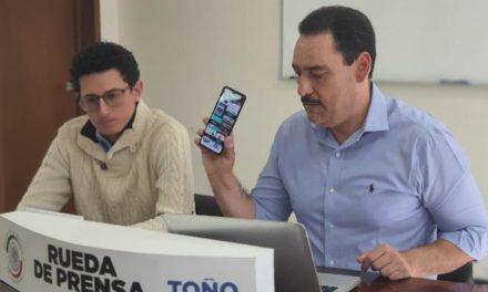 ¡Lamenta Toño Martín del Campo que Senado no esté sesionando, el país puede colapsar por pandemia, asegura!