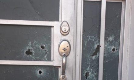 ¡Sicarios balearon una casa en Fresnillo con armas de fuego largas y corta!