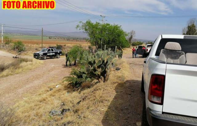 ¡Hombre fue maniatado y ejecutado a balazos en Villa de Cos!