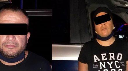 ¡Detuvieron a una pareja con 60 kilos de marihuana en Calvillo, Aguascalientes!