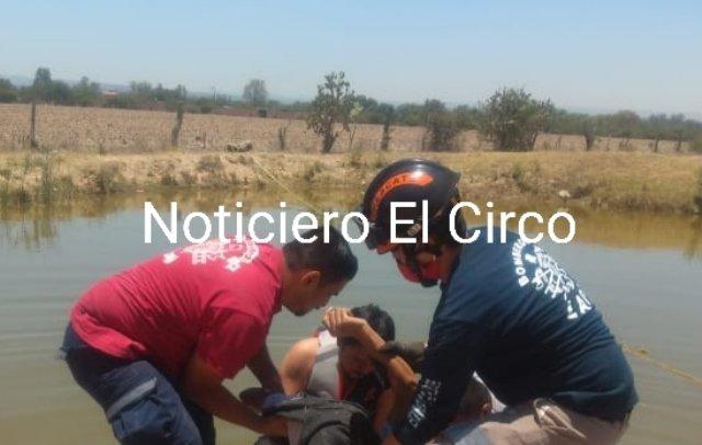 ¡Joven murió ahogado en un estanque en Lagos de Moreno por rescatar a su hermano!
