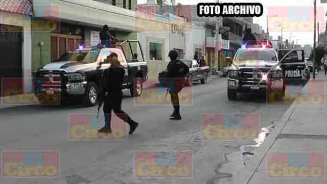 ¡PEP detuvo a dos hombres por robo a cuentahabientes en Fresnillo!