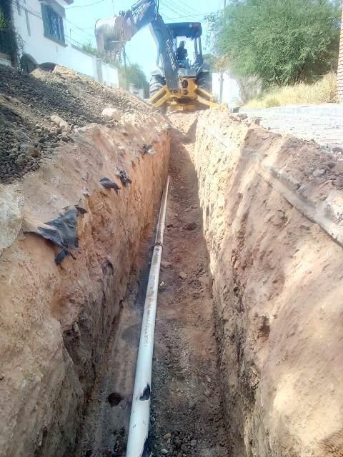 ¡Rehabilita CAPAS 300 metros de la red en Corral de Barrancos!