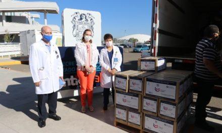 ¡Recibe el CHMH donación de equipo de protección para personal médico que atiende a pacientes con COVID-19!