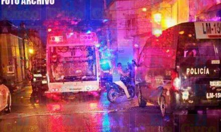 ¡En San Juan de los Lagos ejecutaron a dos hombres en una camioneta!