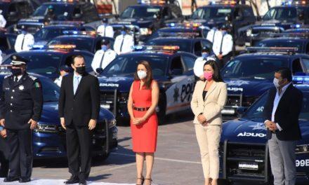 ¡Tere Jiménez cumple con la entrega de 115 nuevas patrullas a la Policía Municipal!