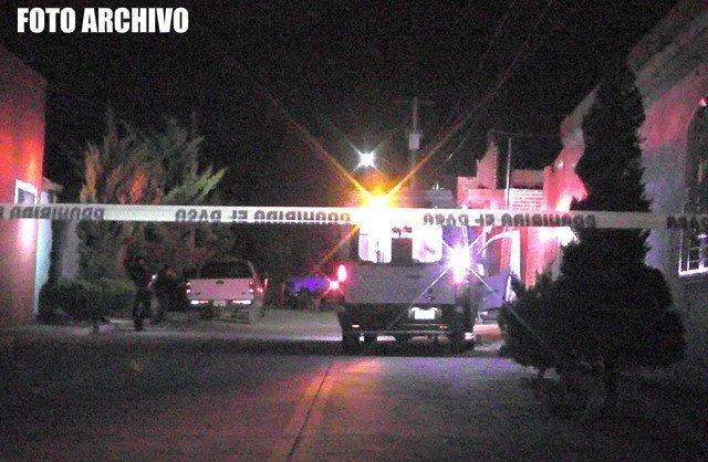 ¡Hombre fue ejecutado dentro de su casa en el Centro de Fresnillo!