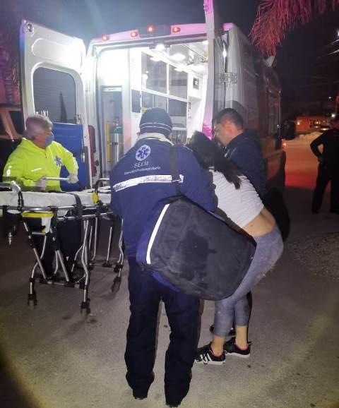 ¡Policías de Pabellón de Arteaga frustraron auto-privación de la vida de una mujer!