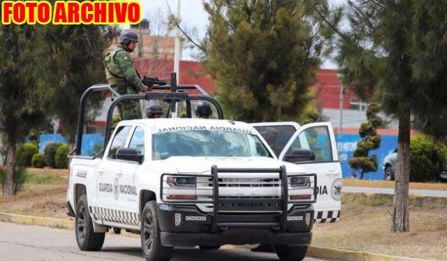 ¡Elementos de la Guardia Nacional se enfrentaron a delincuentes en Juan Aldama!