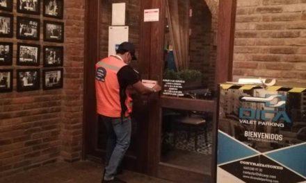 ¡Clausura Guardia Sanitaria restaurante que no validó sus protocolos sanitarios; van 151 revisados!