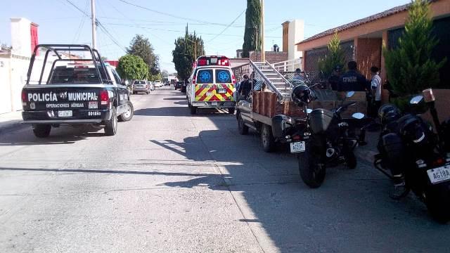 ¡Pensionado del IMSS fue apuñalado durante un asalto en su residencia en Aguascalientes!
