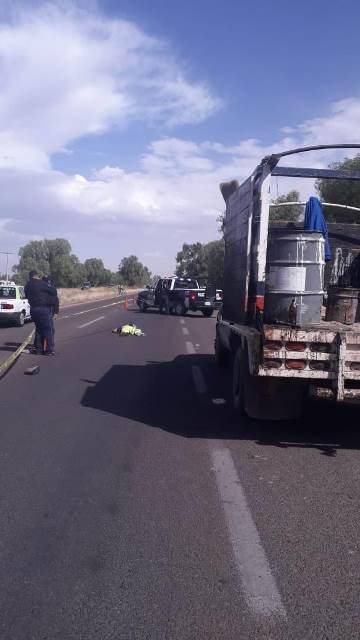 ¡Trabajador de la SCT murió atropellado por una camioneta en Aguascalientes!