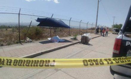 ¡Conserje de un kinder en Aguascalientes murió infartado en la vía pública!