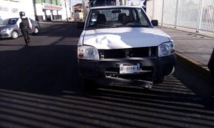 ¡Grave niño ciclista tras ser embestido por una camioneta en Aguascalientes!