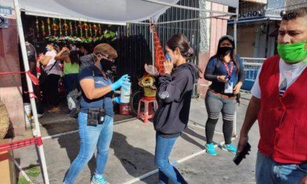 ¡Fortalecen filtros sanitarios en tianguis y mercados municipales!
