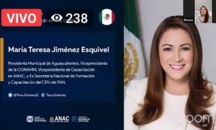 ¡Tere Jiménez representa a México en Encuentro Internacional de alcaldes por emergencia sanitaria!