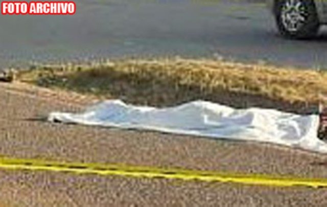 ¡Hombre de la tercera edad murió atropellado por un auto en Fresnillo!