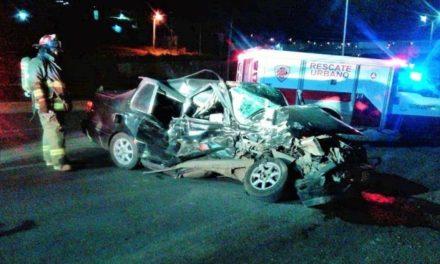 ¡Automovilista murió tras fuerte choque en Zacatecas!