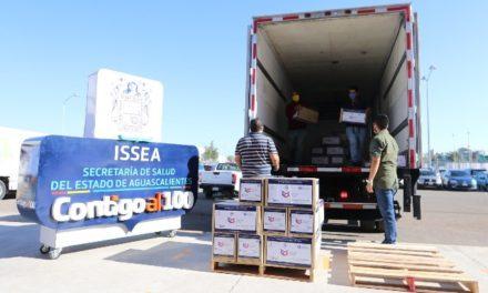 ¡Agradece gobernador Martín Orozco donaciones de insumos al personal médico durante pandemia!