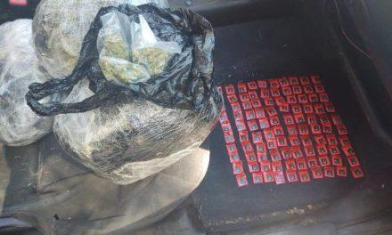 ¡Aseguró PEP a dos menores por posesión de cocaína y marihuana en Loreto!