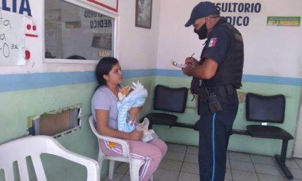 ¡Policías municipales de Aguascalientes salvan la vida de un bebé de 11 días de nacido!