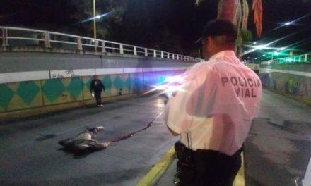 ¡Accidente de motocicleta dejó 1 muerto y 1 lesionado grave en Aguascalientes!