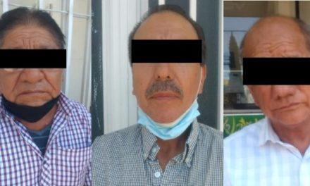 ¡Desmanteló la SSPE banda de timadores, dos son de origen peruano!