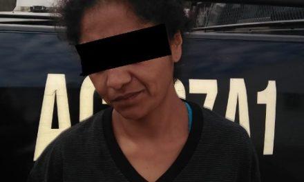 """¡Distribuidora de droga conocida como """"La Chayo"""" fue detenida por policías estatales de Aguascalientes!"""