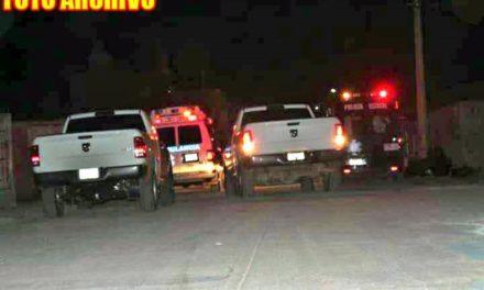 ¡Ejecutaron a dos hombres e hirieron a otro en Guadalupe!
