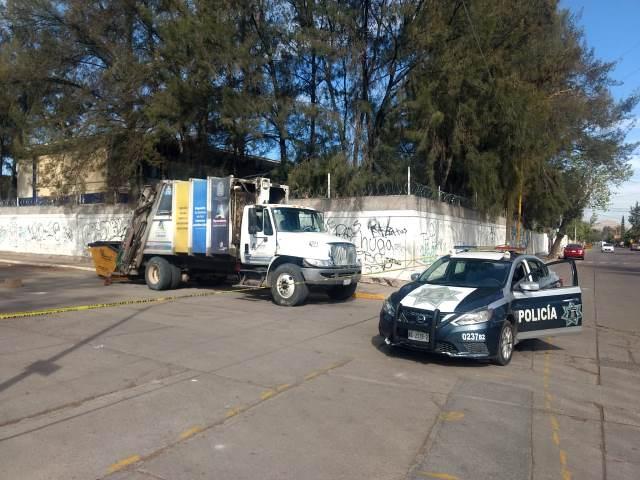 ¡Empleados de limpia hallaron un feto humano en un contenedor de basura en Aguascalientes!